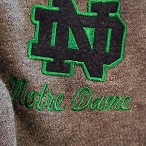 Notre Dame 3/4 Sweatshirt
